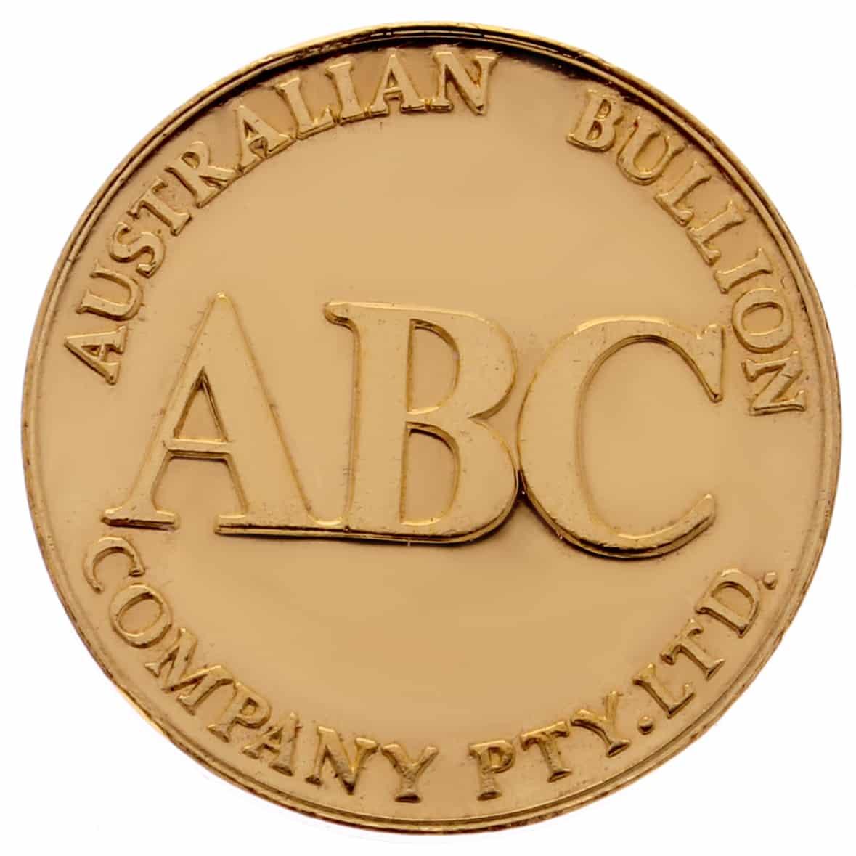 ABC 1/2oz .9999 Gold Cast Bullion Round 2