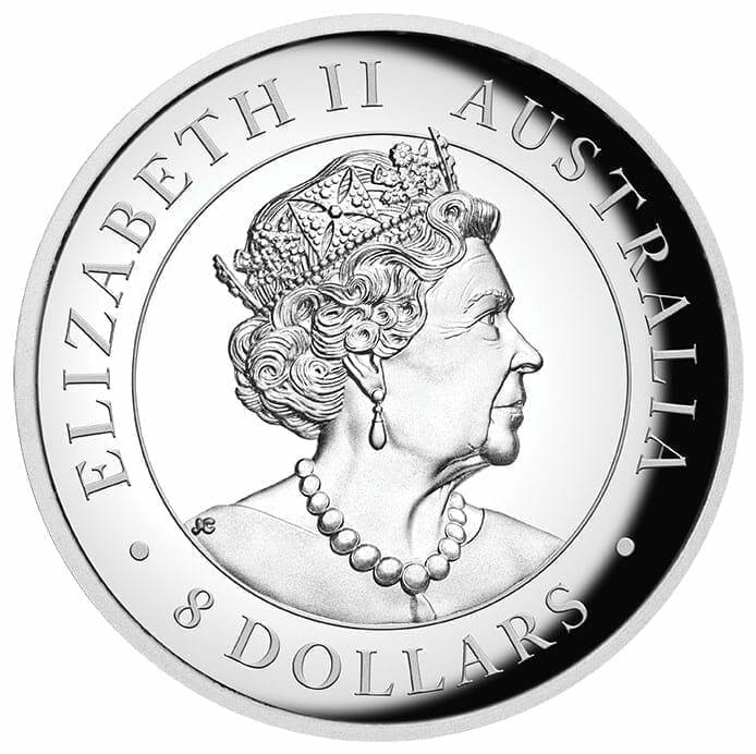2019 Australian Kookaburra 5oz Silver Proof High Relief Coin 8