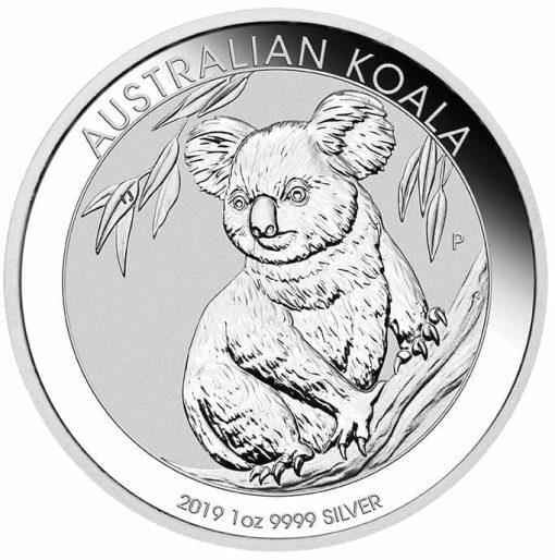 2019 Australian Koala 1oz .9999 Silver Bullion Coin 1