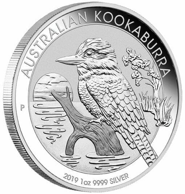 2019 Australian Kookaburra 1oz .9999 Silver Bullion Coin 2