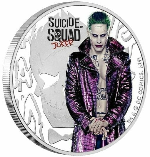 2019 Suicide Squad - Joker 1oz Silver Proof Coin 2