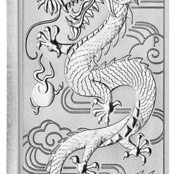 2018 Dragon 1oz .9999 Silver Bullion Rectangular Coin 4