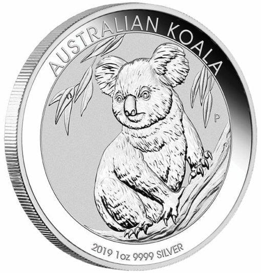 2019 Australian Koala 1oz .9999 Silver Bullion Coin 2