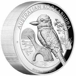 2019 Australian Kookaburra 5oz Silver Proof High Relief Coin 7