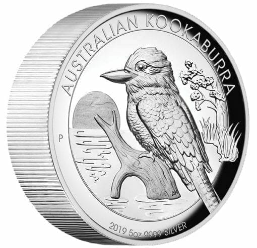 2019 Australian Kookaburra 5oz Silver Proof High Relief Coin 3