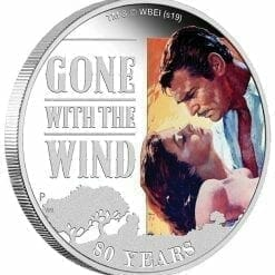 2019 Gone with the Wind 80th Anniversary 1oz Silver Proof Coin 7