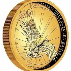 2019 Australian Wedge-Tailed Eagle 2oz Gold Proof High Relief Coin 7