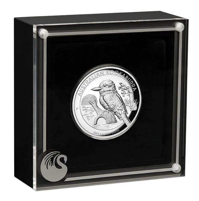 2019 Australian Kookaburra 1oz Silver Proof High Relief Coin 2
