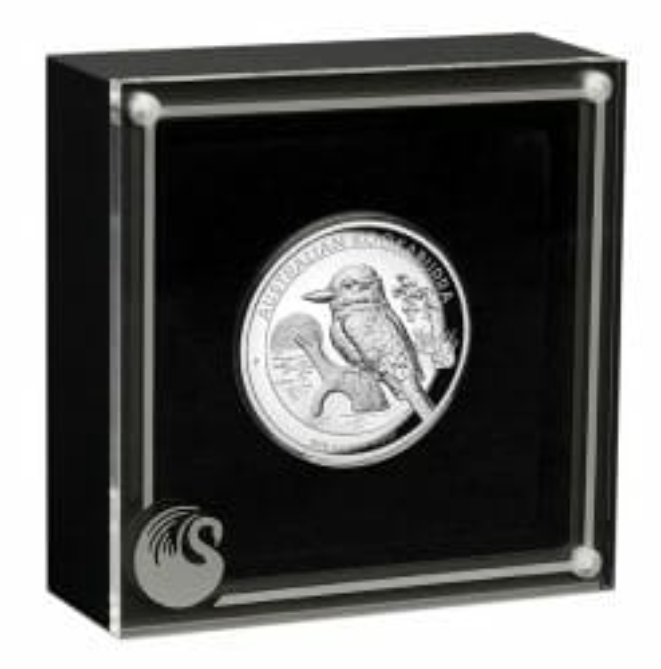 2019 Australian Kookaburra 1oz Silver Proof High Relief Coin 6