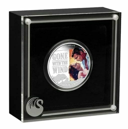 2019 Gone with the Wind 80th Anniversary 1oz Silver Proof Coin 5