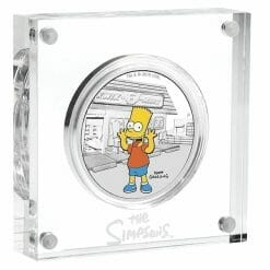 2019 The Simpsons - Bart Simpson 1oz .9999 Silver Proof Coin 6