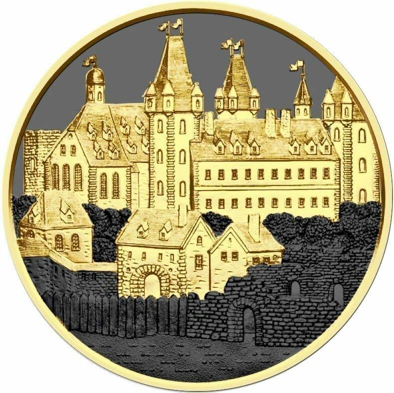 2019 Austrian Wiener Neustadt 1oz Silver Coin - Golden Ring Edition 1