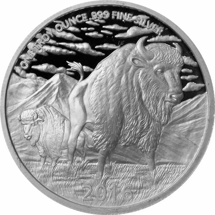 2016 The Hunter 1oz Silver Bullion Coin 3