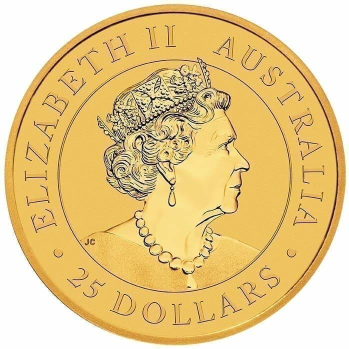 2019 Australian Kangaroo 1/4oz Gold Bullion Coin 3