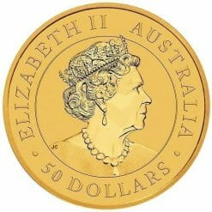 2019 Australian Kangaroo 1/2oz Gold Bullion Coin 5