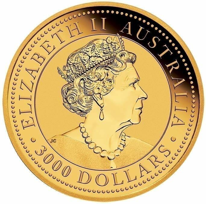 2019 Australian Kangaroo 1kg Gold Bullion Coin 3