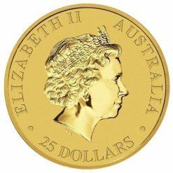 RE-DO 1988 Australian Kangaroo 1/4oz Gold Bullion Coin 5