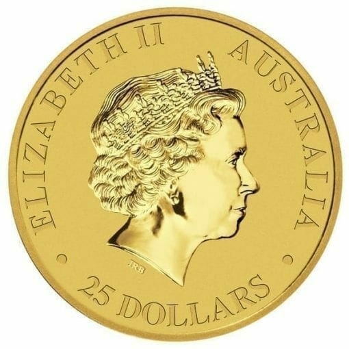 RE-DO 1988 Australian Kangaroo 1/4oz Gold Bullion Coin 3