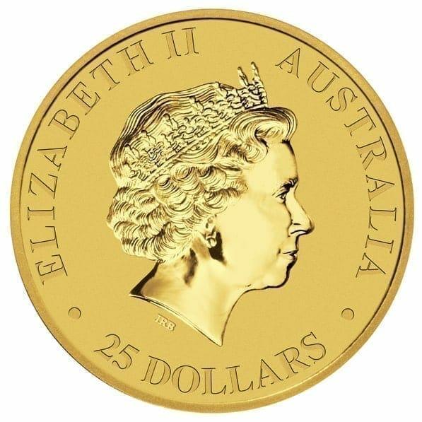 RE-DO 1993 Australian Kangaroo 1/4oz Gold Bullion Coin 5