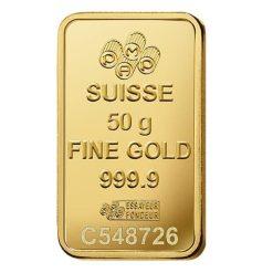 Lady Fortuna 50g .9999 Gold Minted Bullion Bar 7