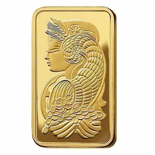 Lady Fortuna 50g .9999 Gold Minted Bullion Bar 3