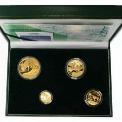 2007 Giants of Africa - The Eland 4 Coin Gold Proof Set - Natura Proof Set 18