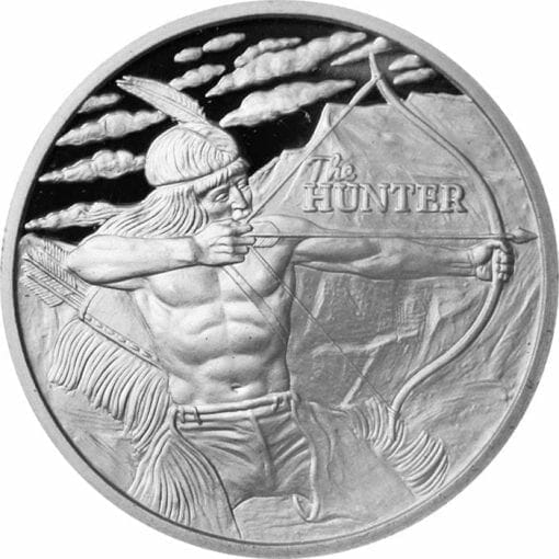 2016 The Hunter 1oz Silver Bullion Coin 1