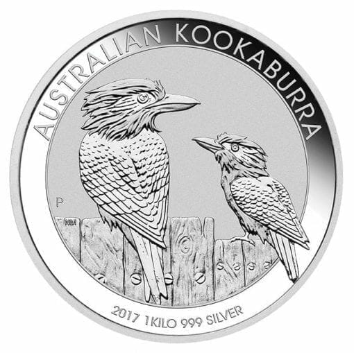 2017 Australian Kookaburra 1kg Silver Bullion Coin 1