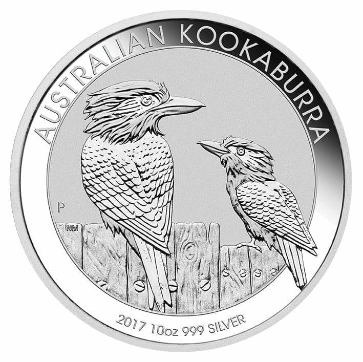 2017 Australian Kookaburra 10oz .999 Silver Bullion Coin 1