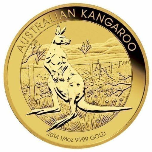 RE-DO 1988 Australian Kangaroo 1/4oz Gold Bullion Coin 1
