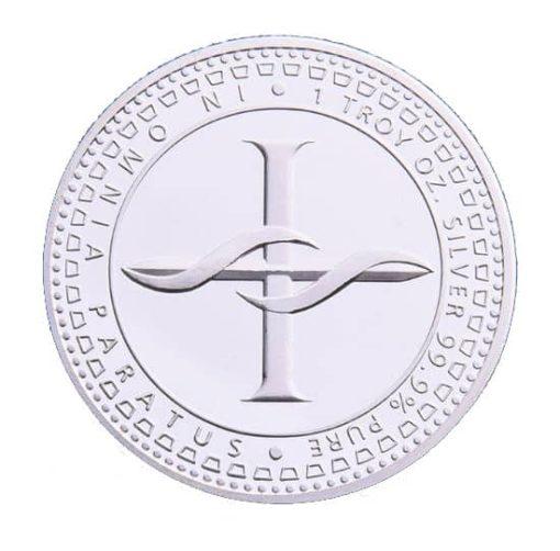 Scottsdale Silver In Omnia Paratus 1oz Silver Bullion Coin 1