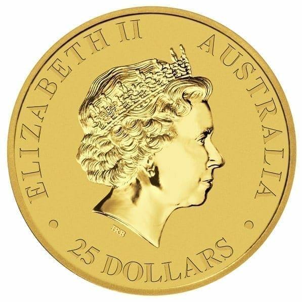 2012 Australian Kangaroo 1/4oz Gold Bullion Coin 3