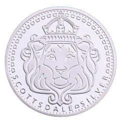 Scottsdale Silver In Omnia Paratus 1oz Silver Bullion Coin 3