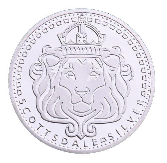 Scottsdale Silver In Omnia Paratus 1oz Silver Bullion Coin 2