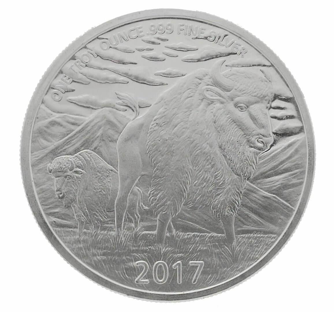 2017 The Hunter 1oz Silver Bullion Coin 2