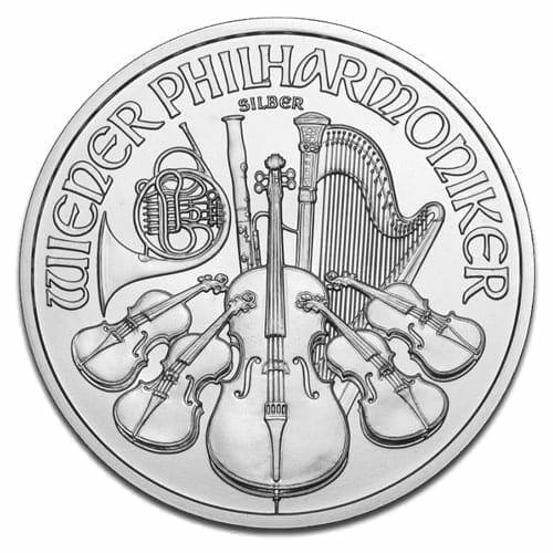2013 Austrian Philharmonic 1oz Silver Bullion Coin 3