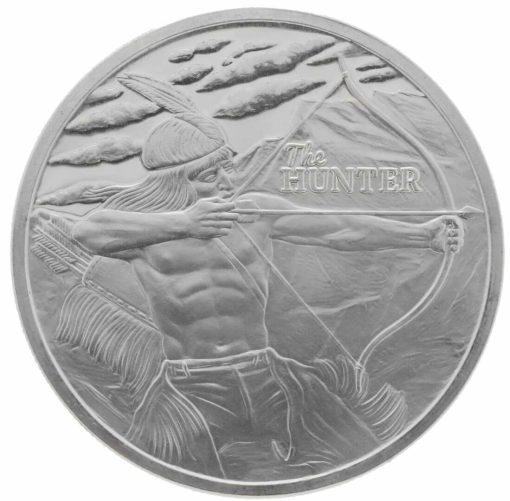 2017 The Hunter 1oz Silver Bullion Coin 1