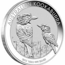 2017 Australian Kookaburra 1kg Silver Bullion Coin 4