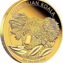 2014 Australian Koala 1/4oz Gold Bullion Coin 4