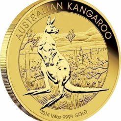RE-DO 1988 Australian Kangaroo 1/4oz Gold Bullion Coin 4