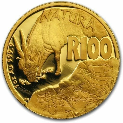 2007 Giants of Africa - The Eland 4 Coin Gold Proof Set - Natura Proof Set 2