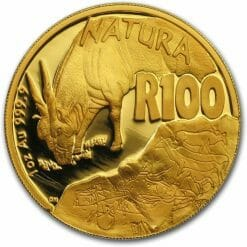 2007 Giants of Africa - The Eland 4 Coin Gold Proof Set - Natura Proof Set 11