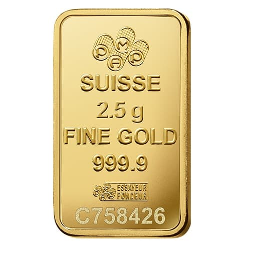 Lady Fortuna 2.5g .9999 Gold Minted Bullion Bar - PAMP Suisse 4