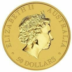 2014 Australian Kangaroo 1/2oz Gold Bullion Coin 5