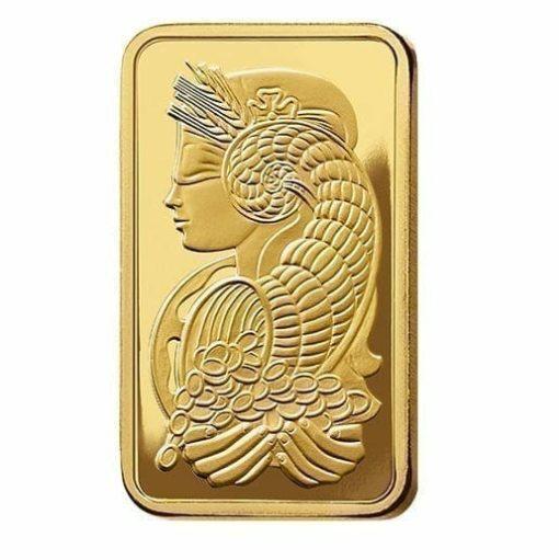 Lady Fortuna 2.5g .9999 Gold Minted Bullion Bar - PAMP Suisse 3