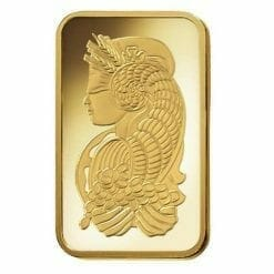 Lady Fortuna 2.5g .9999 Gold Minted Bullion Bar - PAMP Suisse 6