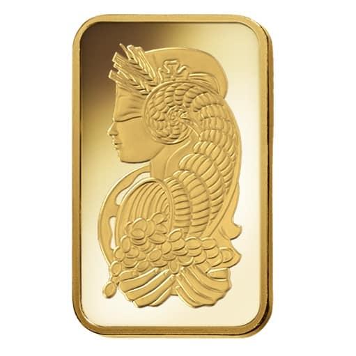 Lady Fortuna 2.5g .9999 Gold Minted Bullion Bar - PAMP Suisse 6