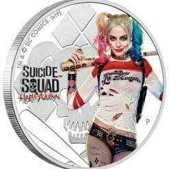 2019 Suicide Squad - Harley Quinn 1oz .9999 Silver Proof Coin 7