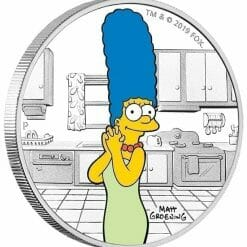 2019 The Simpsons - Marge Simpson 1oz .9999 Silver Proof Coin 7
