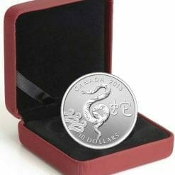 2013 Year of the Snake $10 1/2oz .9999 Silver Proof Coin 5